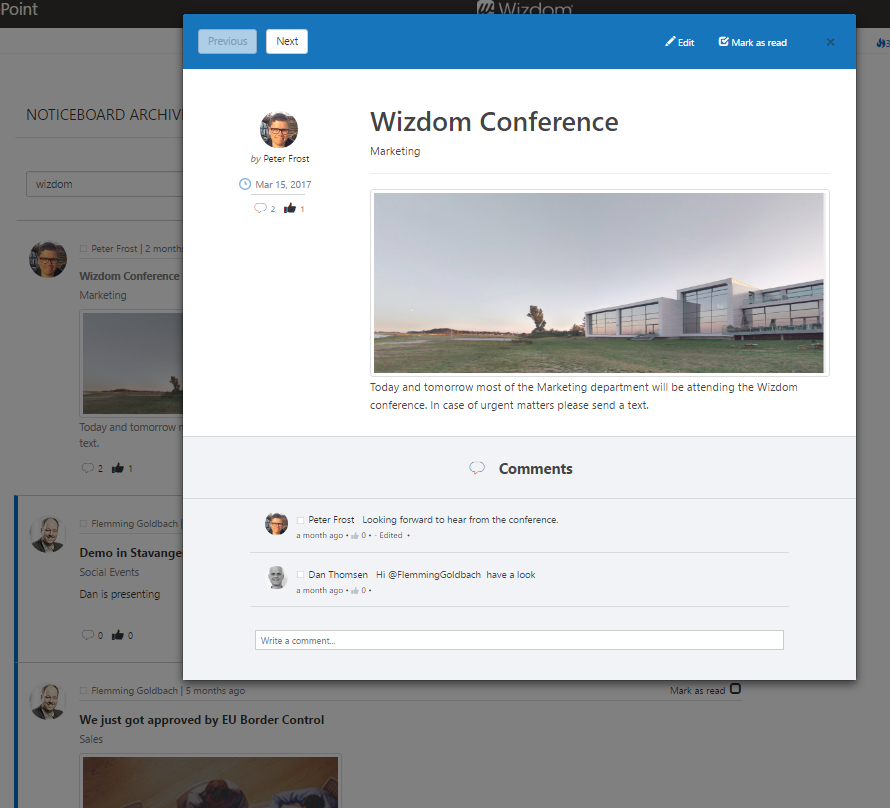 Wizdom Digital Workplace